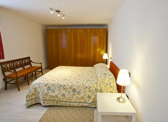 Appartamento in affitto a Bellagio letto matrimoniale